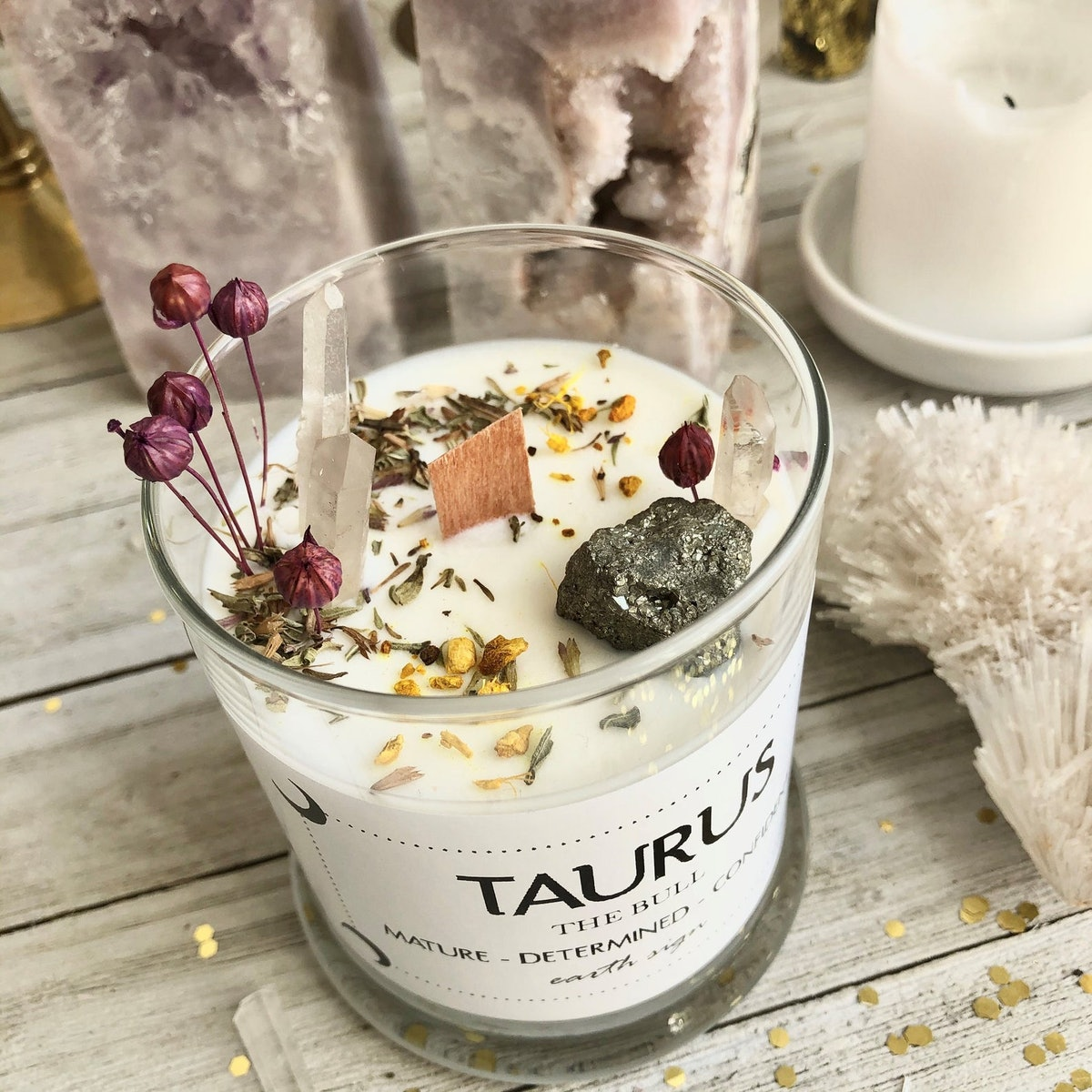 Taurus Soy Candle