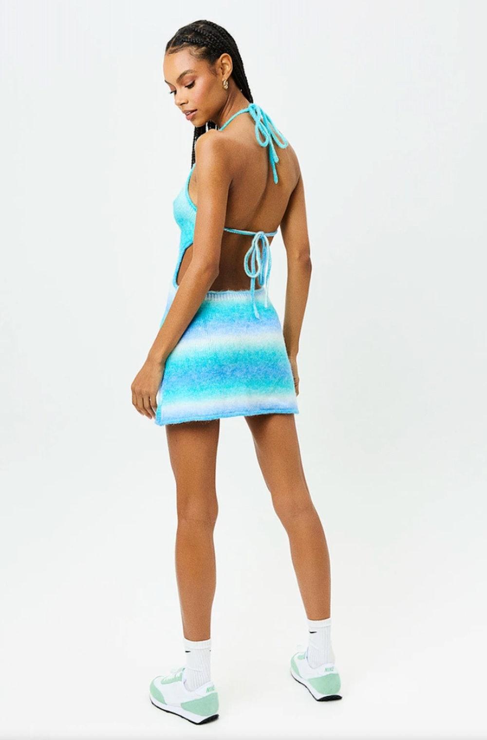 Debbie Knit Halter Dress