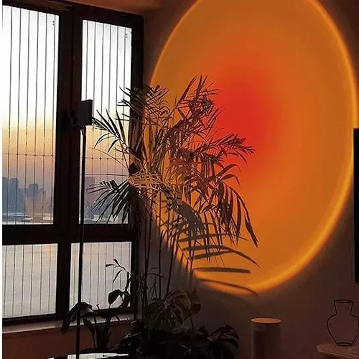 Ambient Rainbow Sunset Lamp