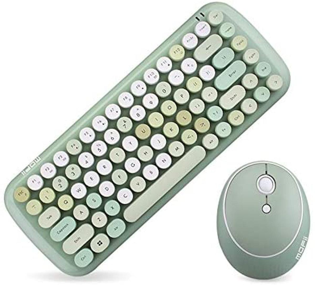 KBD Mini Wireless Keyboard Mouse Set
