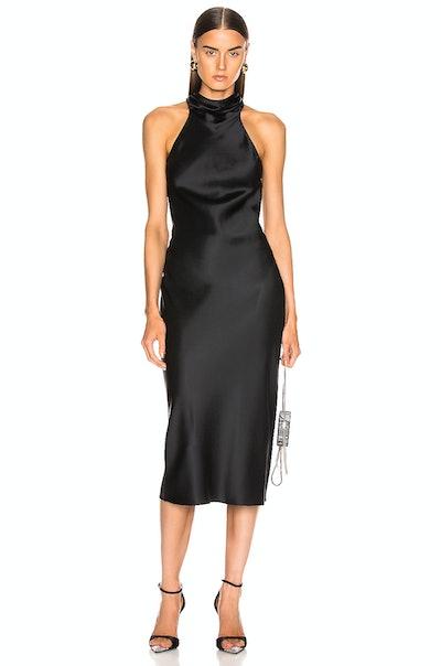 Cushnie Sleeveless High Neck Pencil Dress