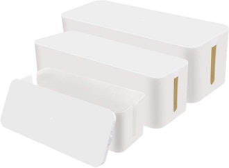 Chouky Cable Organizer Box (3-Pack)