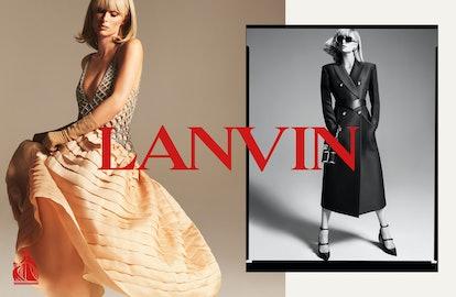 Paris Hilton in the new LANVIN campaign