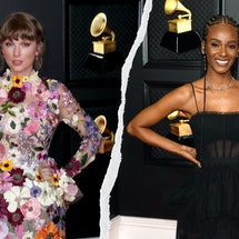6 Sheer Dresses At The 2021 Grammys That Won The Red Carpet