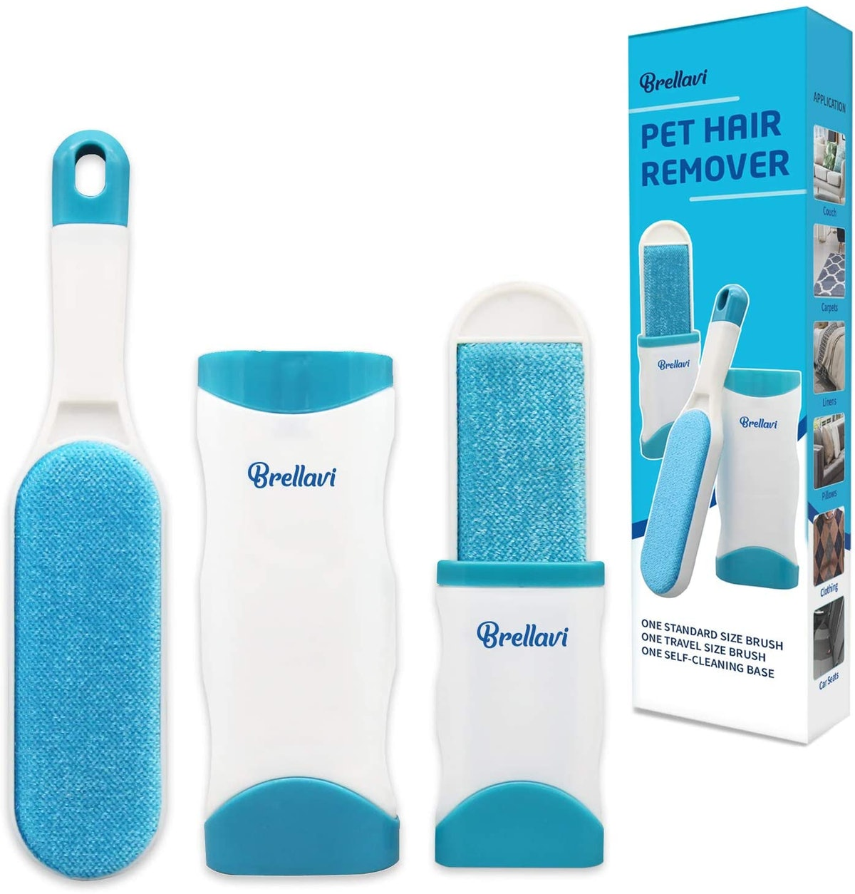 Brellavi Double-Sided Pet Hair Remover