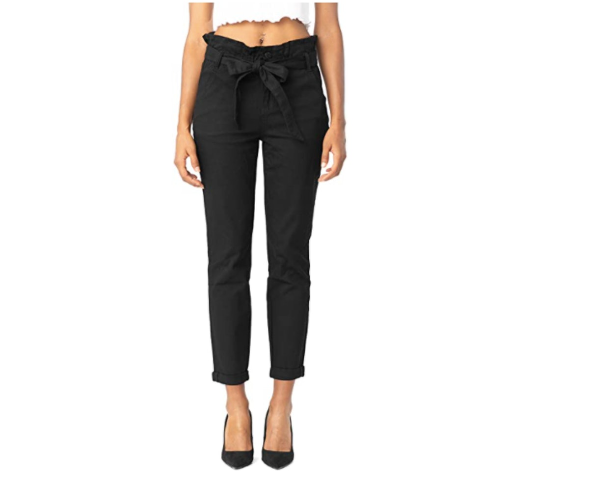 Almost Famous High-Rise Paperbag Jeans