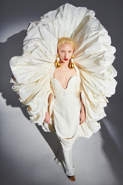Schiaparelli dress from Spring/Summer 2021 Haute Couture collection.