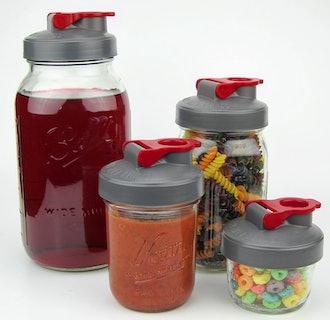 County Line Kitchen Mason Jar Flip Cap (3-Pack)