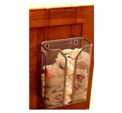 DecoBros Over The Cabinet Door Bag Holder