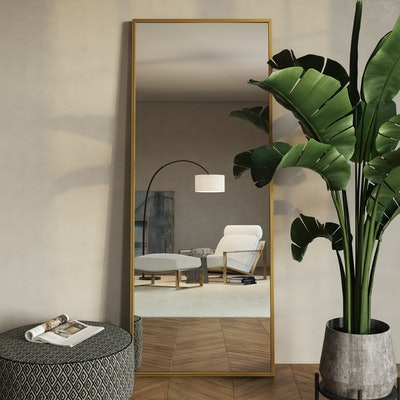 Bali Modern Floor Mirror