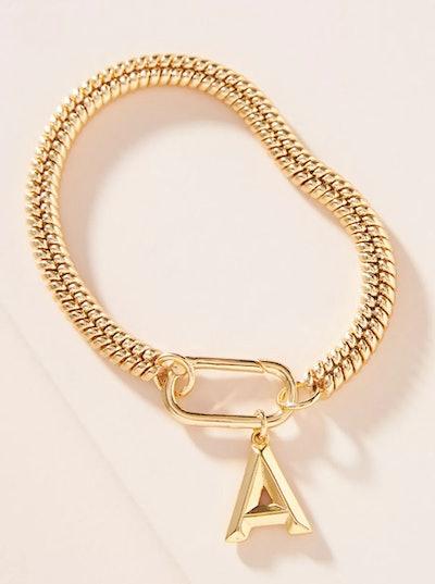 Monogram Linked Chain Bracelet