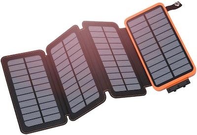 Hiluckey Solar 25000mAh Power Bank
