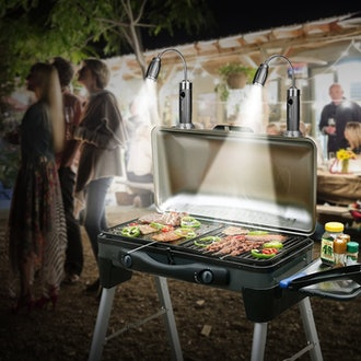 IMAGE Magnetic Ultra-Bright Barbecue Grill Lights (2-Pack)