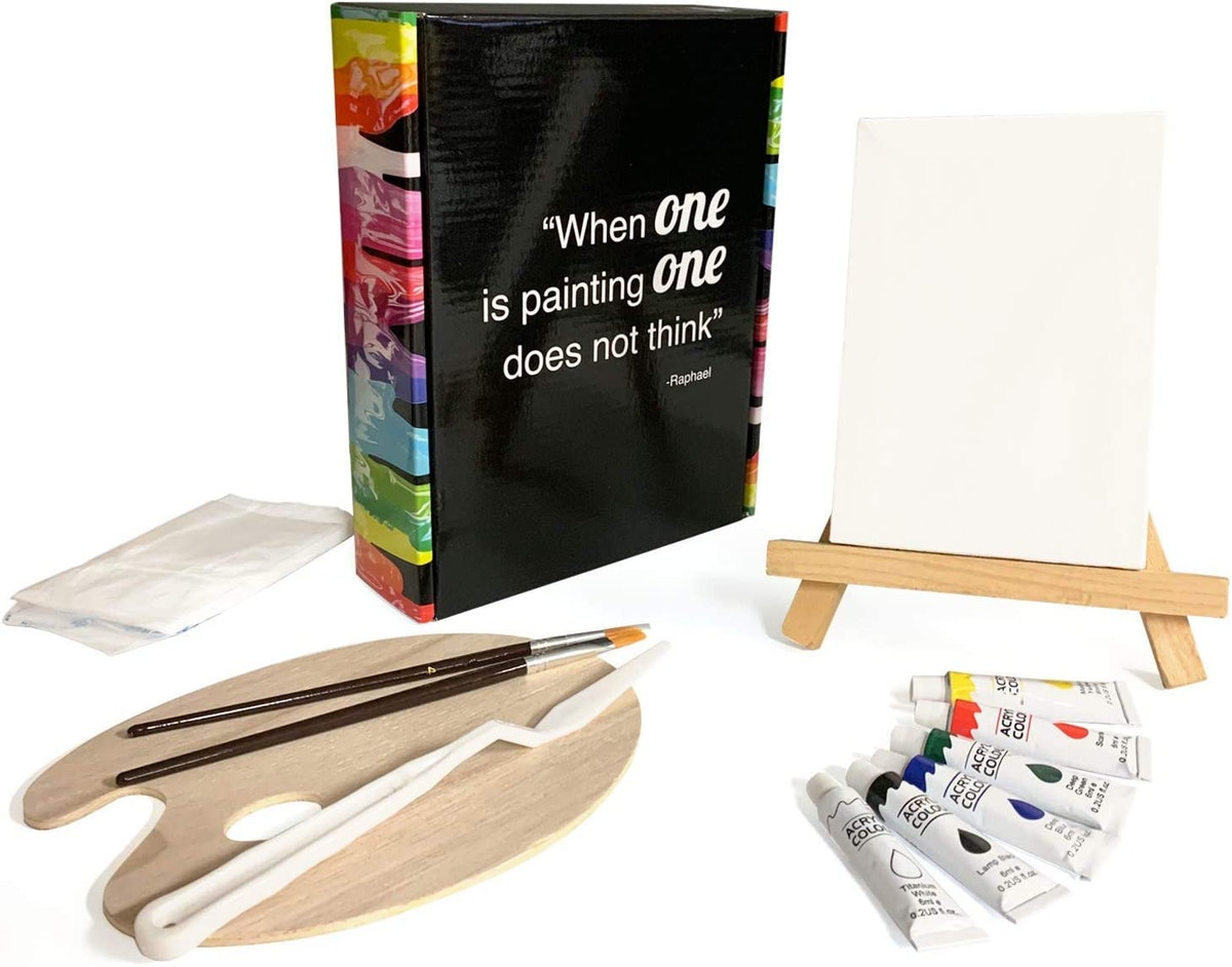 Quality 13-Piece Acrylic Mini Painting Set