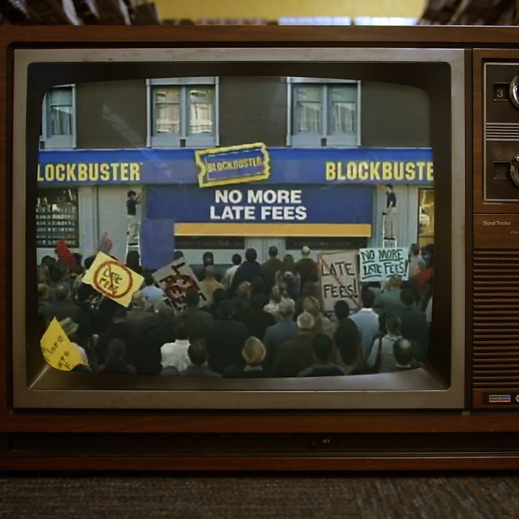 A still from the documentary 'The Last Blockbuster.'