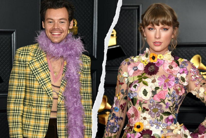 Taylor Swift and Harry Styles reunited at the 2021 Grammy Awards