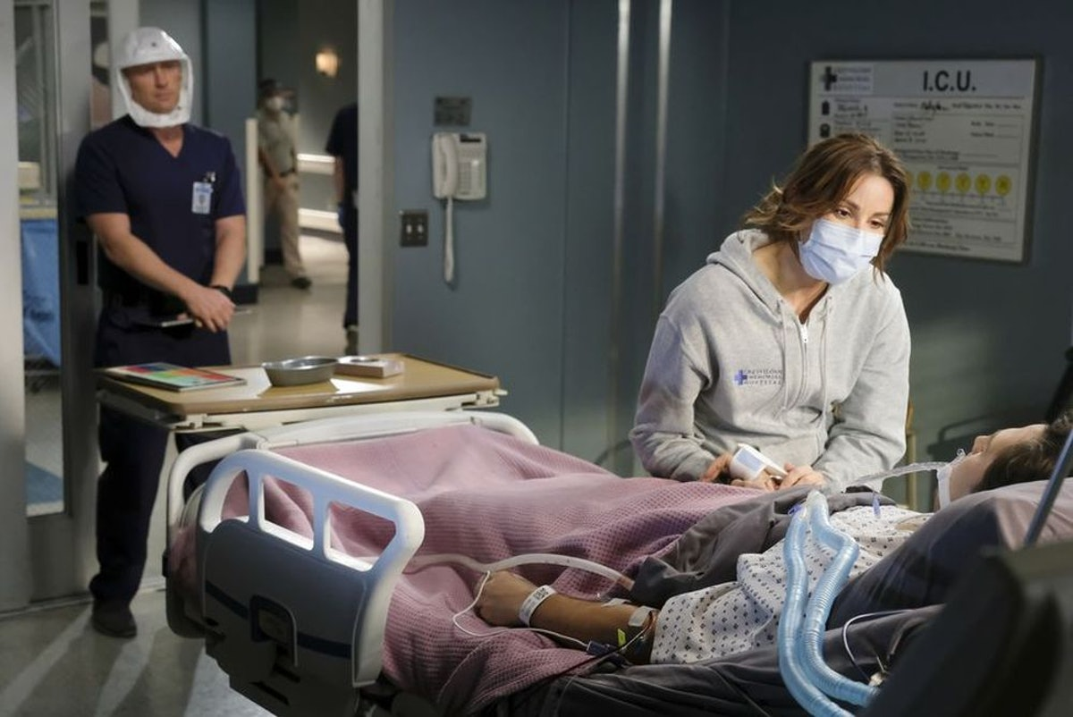 STEFANIA SPAMPINATO in ABC's Grey's Anatomy