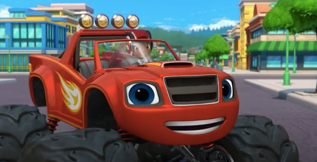 Watch 'Blaze and the Monster Machines' with your car-loving kid