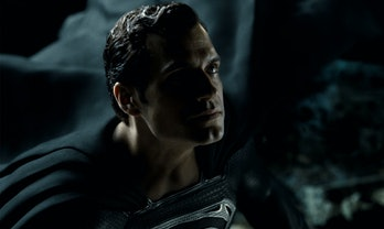 Henry Cavill as Black Suit Superman in Zack Snyder's Justice League