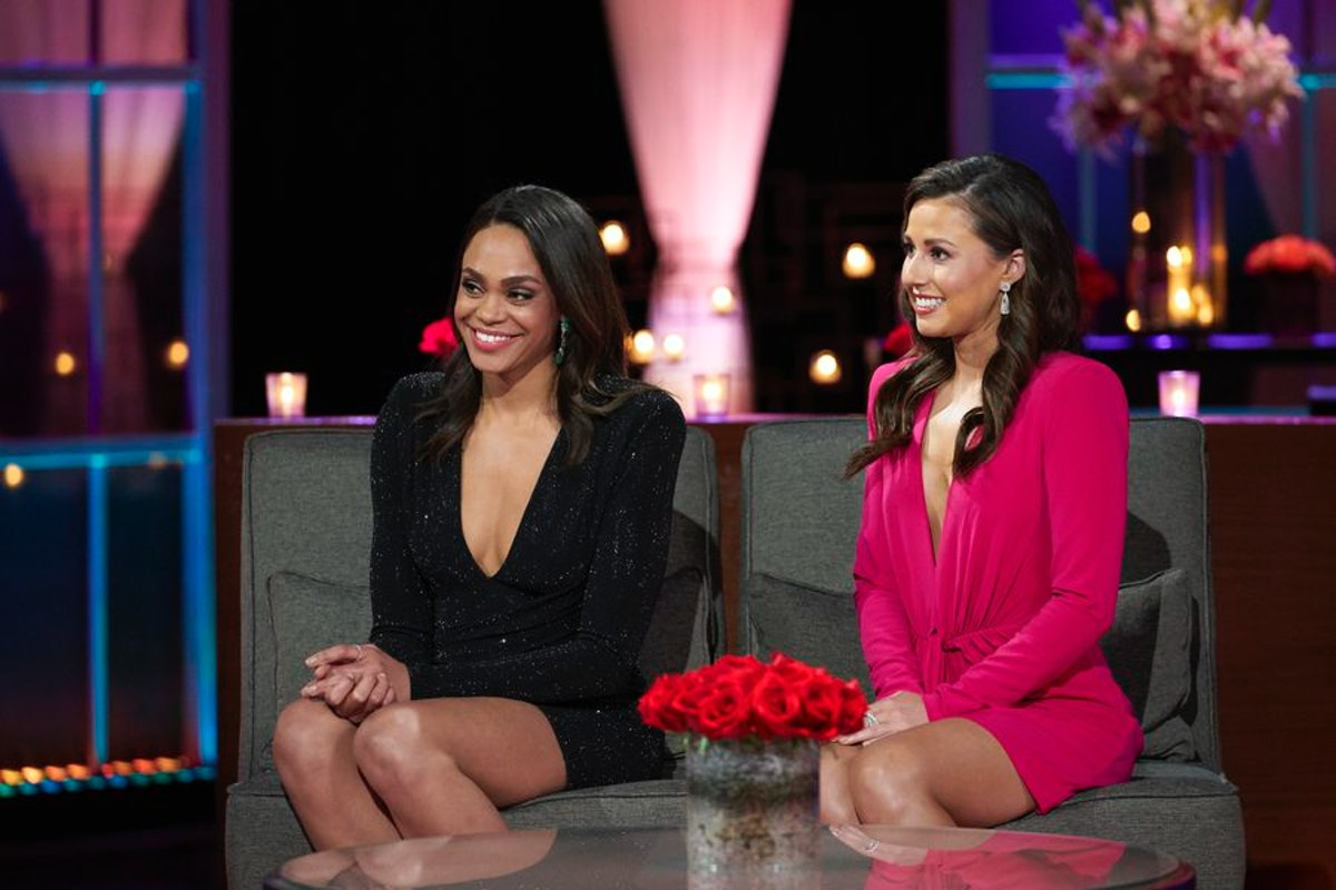 Michelle Young and Katie Thurston on The Bachelor: After The Final Rose.