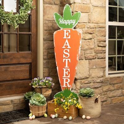 """Easter Decor Front Door Sign 57"""""""