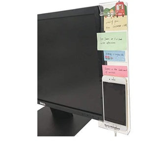 Quadow Monitor Message Board with Phone Holder
