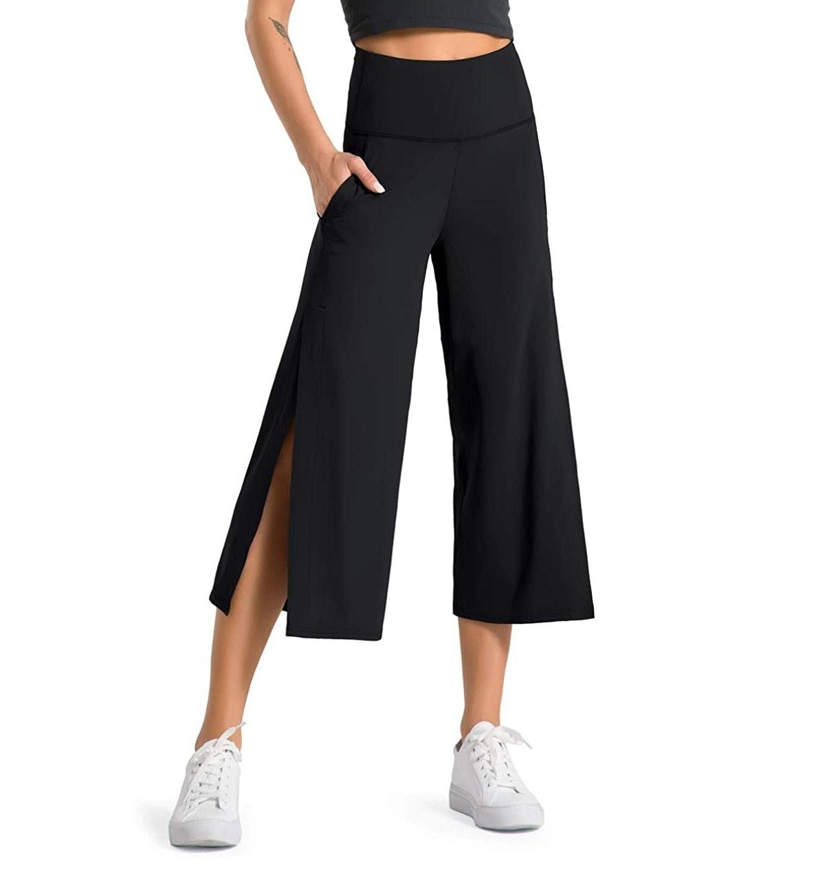 Dragon Fit Wide Bootleg Yoga Pants