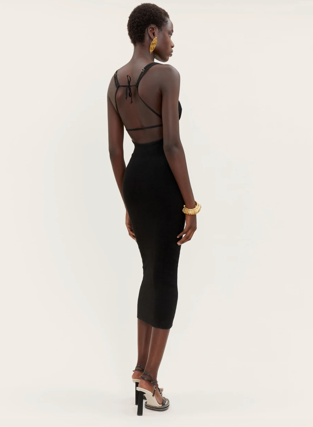 Pila Fitted Cut-Out Dress