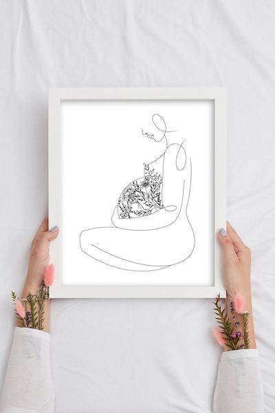HerbnSage - Pregnancy Print