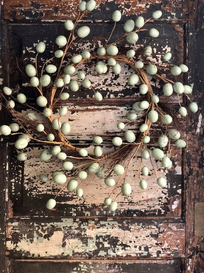 Robin Egg Spring Wreath