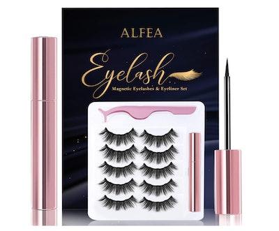 alfea Magnetic Eyelashes with Eyeliner