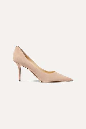 Love 85 Suede Pumps in Neutral
