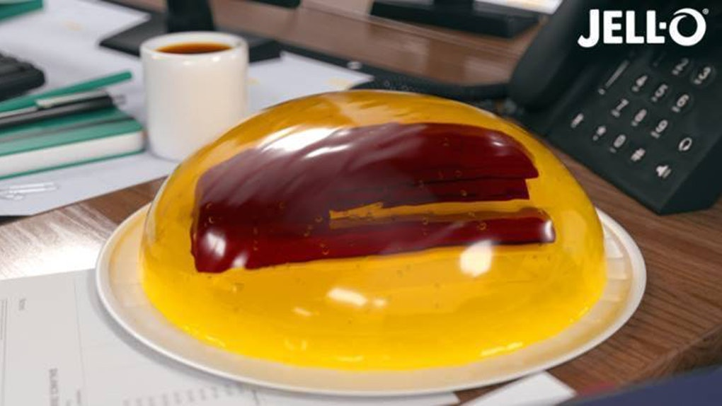 This JELL-O Stapler Mold Prank Kit for 'The Office's' 16th Anniversary is an edible treat.