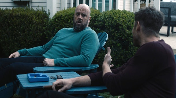 Chris Sullivan and Justin hartley as Toby and Kevin in This Is Us