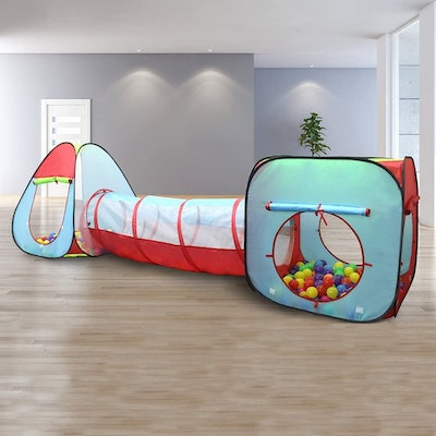 Kiddey Children's Play Tent with Tunnel