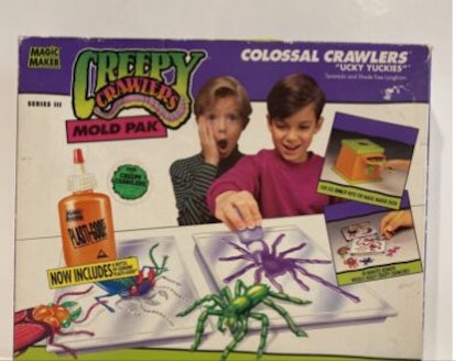 Creepy Crawlers were an interesting toy choice for kids in the 90's.