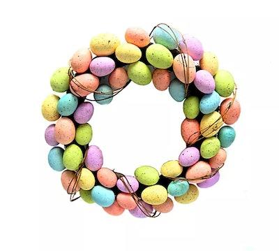 """20"""" Easter Egg Wreath"""
