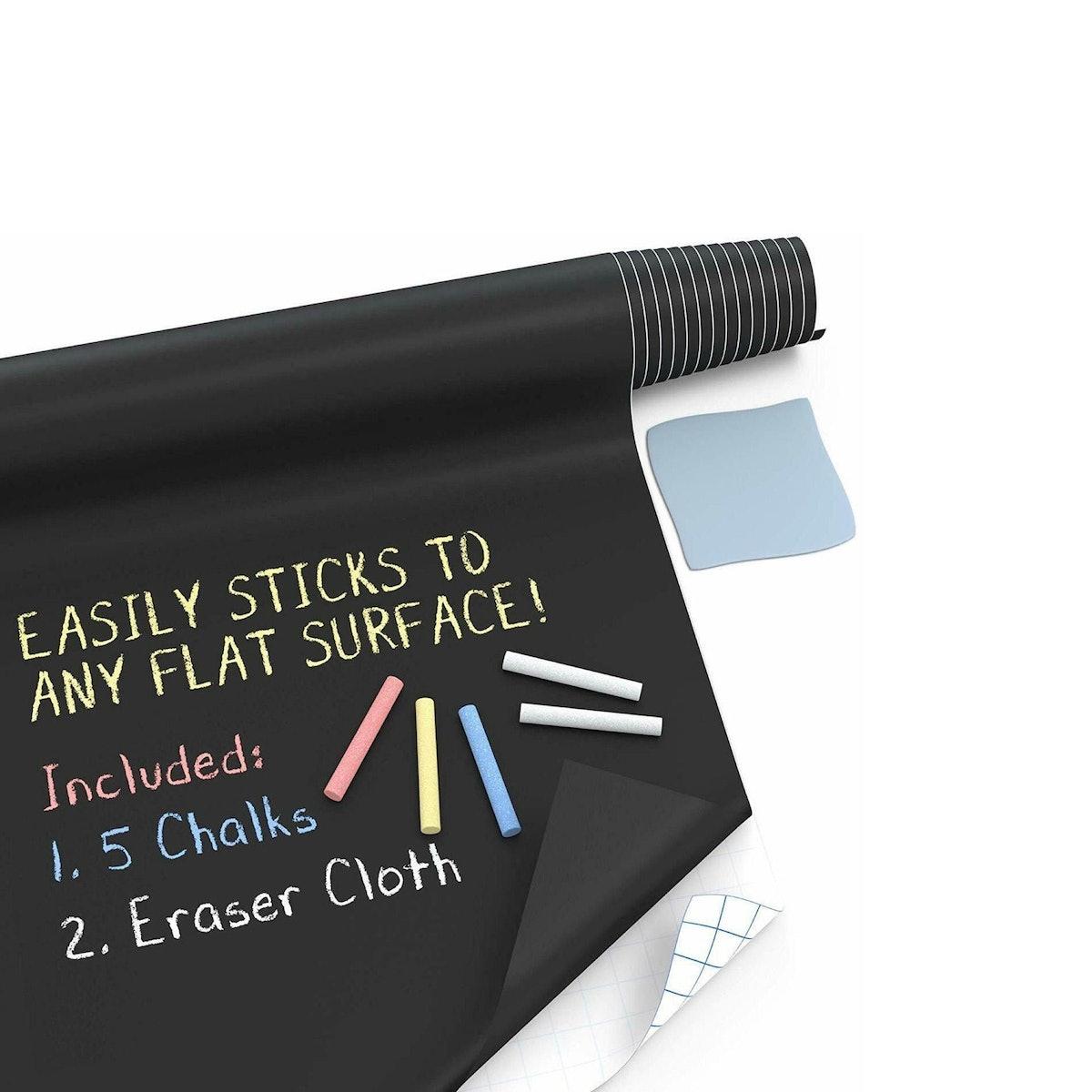 Kassa Large Chalkboard Contact Paper Roll