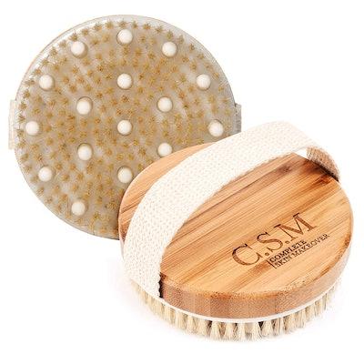 C.S.M. Wet or Dry Body Brush