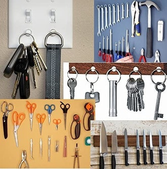 UbiGear Magnetic Key Holders (4-Pack)