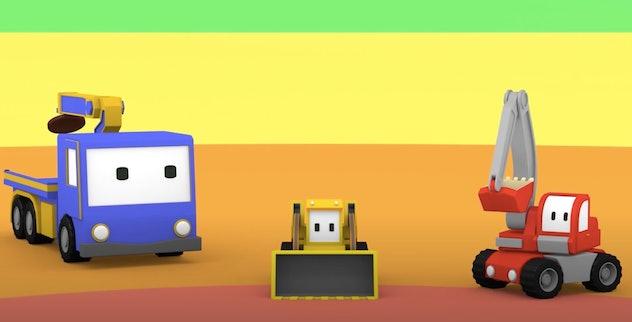 'Tiny Trucks' is a fun story of little friends