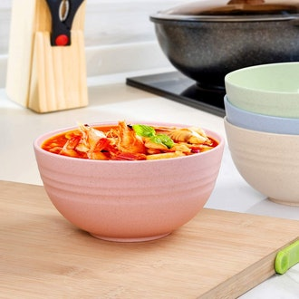 DUOLUV Ubreakable Dish Bowls (4-pack)