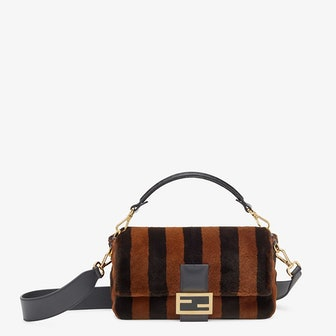Baguette Multicolor Mink Bag