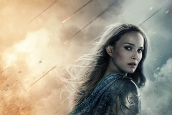 "Natalie Portman in ""Thor: The Dark World"""