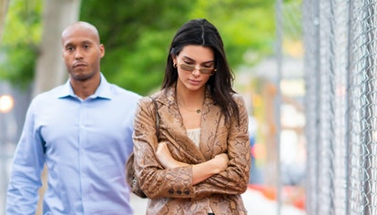 Kendall Jenner is seen in the West Village on May 09, 2019 in New York City.