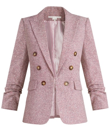 Beacon Heathered Dickey Jacket in Orchid
