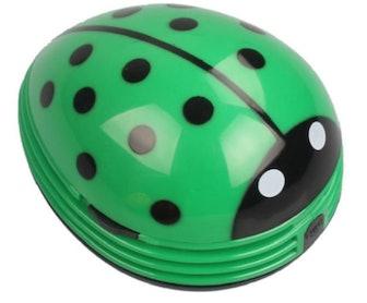 E ECSEM Ladybug Desk Vacuum