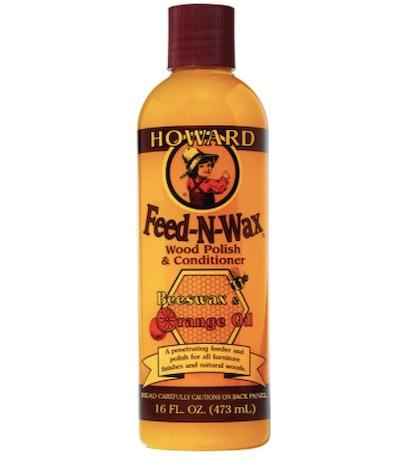 Howard Products Feed-N-Wax Wood Polish