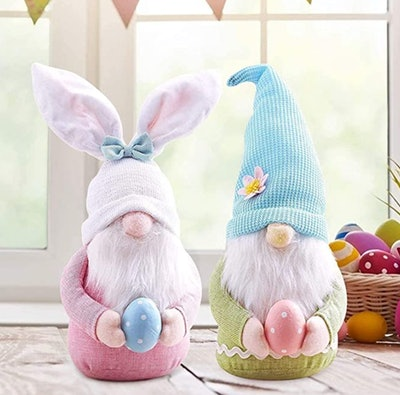 2pc Easter Gnome Set