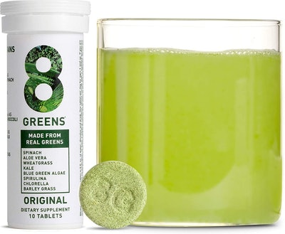 8Greens Immunity and Energy Effervescent Tablets (8-Pack)